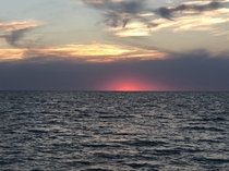 Sunset over the Gulf of Mexico Venice Florida