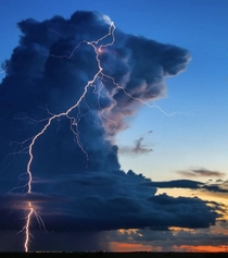 Sunset storm over the Everglades  Dan Ellithorpe