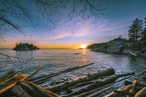 Sunset  Whytecliff Park  West Vancouver