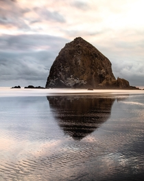 Sunsets at Cannon Beach Oregon are absolutely amazing