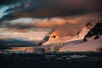 Sunsets at the bottom of the world From the Antarctic Peninsula  by danielbenjaminphoto on IG