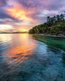 Sunsets in Paradise aka Waisai Raja Ampat Indonesia