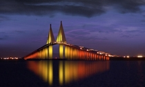 Sunshine Skyway Bridge Suncoast Florida