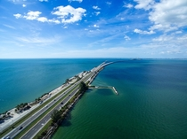 Sunshine Skyway Tampa Bay FL USA