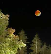 Super Blood Moon over New England Massachusetts tonight  By Terri Cappucci