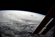 Super Typhoon Vongfong from the ISS