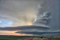 Supercell over the Nebraska Plains