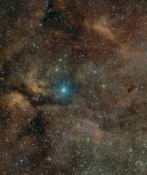 Supergiant Star Gamma Cygni