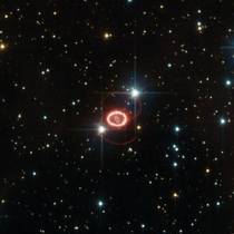 Supernova SN A one of the brightest stellar explosions since the invention of the telescope