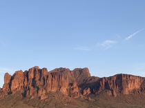 Superstition Mountains Arizona March