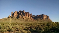 Superstition Mountains - Arizona USA