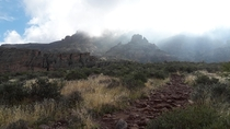 Superstition Mountains Massacre Grounds Trail  x