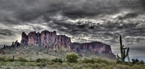 Superstition Mountains Panorama