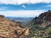 Superstition Wilderness AZ USA Peralta Trail