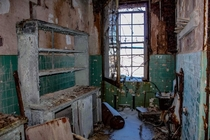Supply room  at abandoned asylum on East Coast