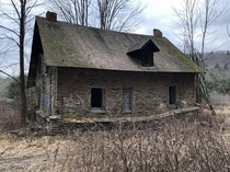 Supposedly Haunted Stone House Out In The Shawangunk Mountains NY USA