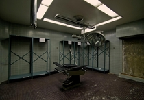 Surgeryexam room at Agnews state hospital OC x
