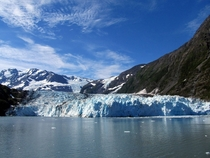 Surprise Glacier in Prince William Sound near Whittier AK