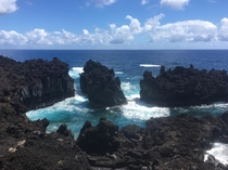 Survived the road to Hana for this beauty - Hana Maui Hawaii USA