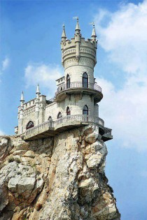 Swallows Nest Castle Crimea Ukraine xPost from rpics