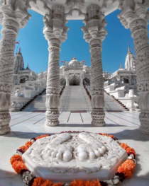 Swami Narayan Hindu Temple in Bhuj India