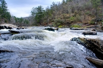Sweetwater Creek rapids Lithia Springs GA