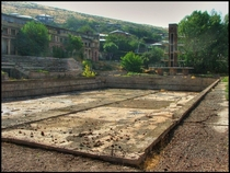 Swimming pool behind the Republican Stadium in Yerevan Armenia Photo Johan van Elk