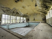 Swimming pool from the  Berlin Olympics