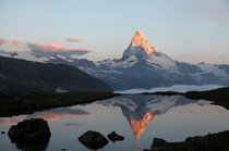 Swiss landmark The Matterhorn