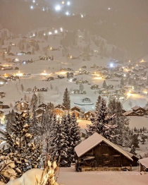 Swiss Winter Night