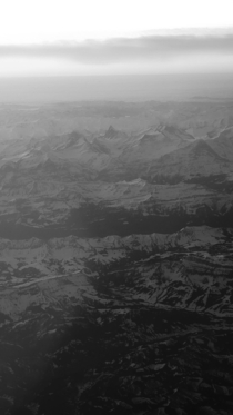 Switzerland near Bern from the air - OC - in portrait -