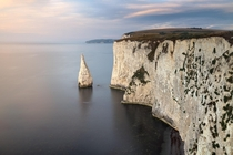 Sword of the Morning Old Harry Rocks in the Morning Dorset United Kingdom