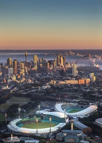 Sydney - Australia I was searching for a bus to SCG and this image was on google maps Never seen this angle and view before