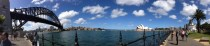 Sydney Harbour First attempt at a Panorama Shot