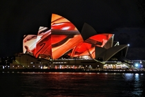 Sydney Opera House during the Visions of Vienna Concert --