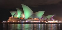 Sydney Opera Houseearth hour Jrn Utzon