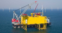 SylWin alpha HVDC High-voltage direct current platform North Sea
