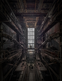 Symmetria in an abandoned thermal power plant Hungary