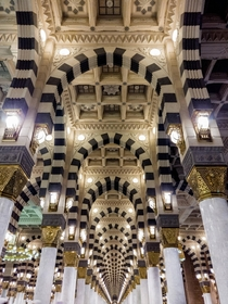 Symmetrical pillars in Medina