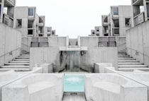 Symmetry at Salk Institute - UCSD Louis Kahn