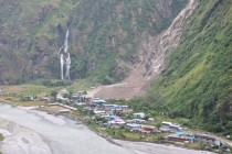 Taal Village Nepal still beautiful after a landslide occurred two months ago