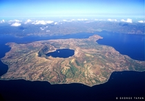 Taal Volcano Batangas Philippines  - Island in a lake on an island in a lake on an island