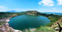 Taal Volcano on the island of Luzon Philippines