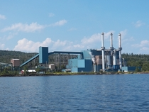 Taconite Harbor Energy Center on the shore of Lake Superior in Schroeder MN