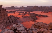 Tadrart Rouge from the south of Algeria This is the closest place you can find on Earth that kinda looks like Mars