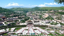 Taer Buddhist Monastery near Xining China