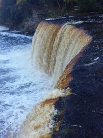Tahquamenon Upper Falls Michigan OC