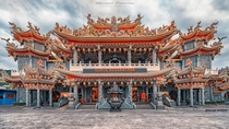 Taipei Buddhist Temple It took years to design and build