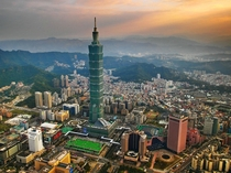 Taipei  Sixth tallest building in the world Taipei Taiwan