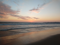 Take a break from job and relax while staring the sunset Playas Ecuador